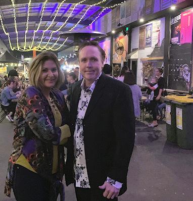 Ronda and Dareen at the Miami Marketta