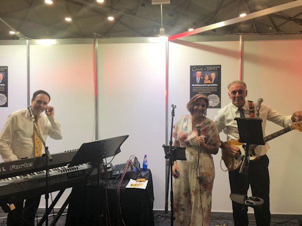 Game of Tones at the Wedding and Honeymoon Expo Brisbane