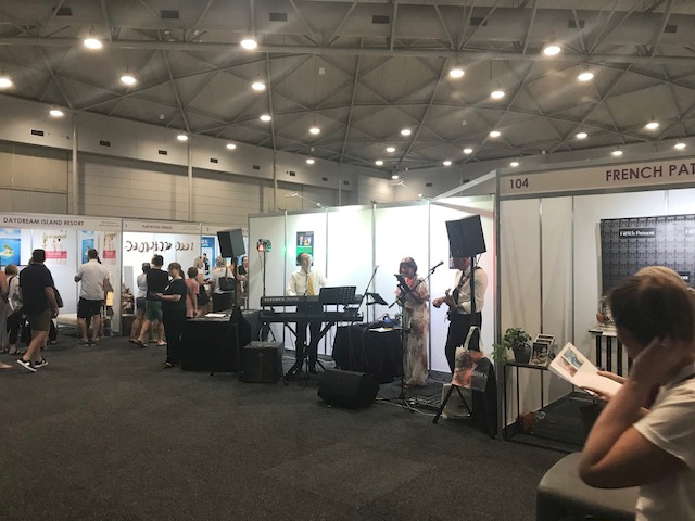 Game of Tones performing at the Wedding and Honeymoon Expo Brisbane